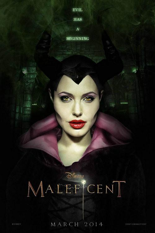 Maleficent Silk Wall Poster Home Bedroom Decor Movie Posters Pictures Friends Gift Angelina Jolie 001 13x20 Inch 33x50cm