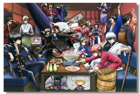 GINTAMA Anime Art Silk Poster Living Room Wall Decor Birthday Gift 003 - 20x30 inch (50x75cm)