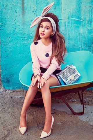 Ariana Grande Art Silk Poster Hot American Music Singer Picture Bedroom Decor Lovely Girl 15 - 20x30 inch (50x75cm)