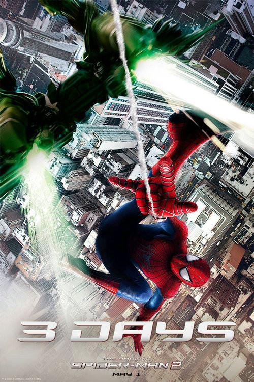 The Amazing Spiderman 2 Silk Wall Poster Hot Movie Posters