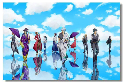 GINTAMA Anime Art Silk Poster Living Room Wall Decor Birthday Gift 013 - 20x30 inch (50x75cm)