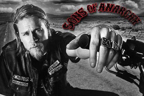 Sons Of Anarchy Silk Poster Hot TV Show Series Picture JaxTeller 04 - 32x48 inch (80x120cm)