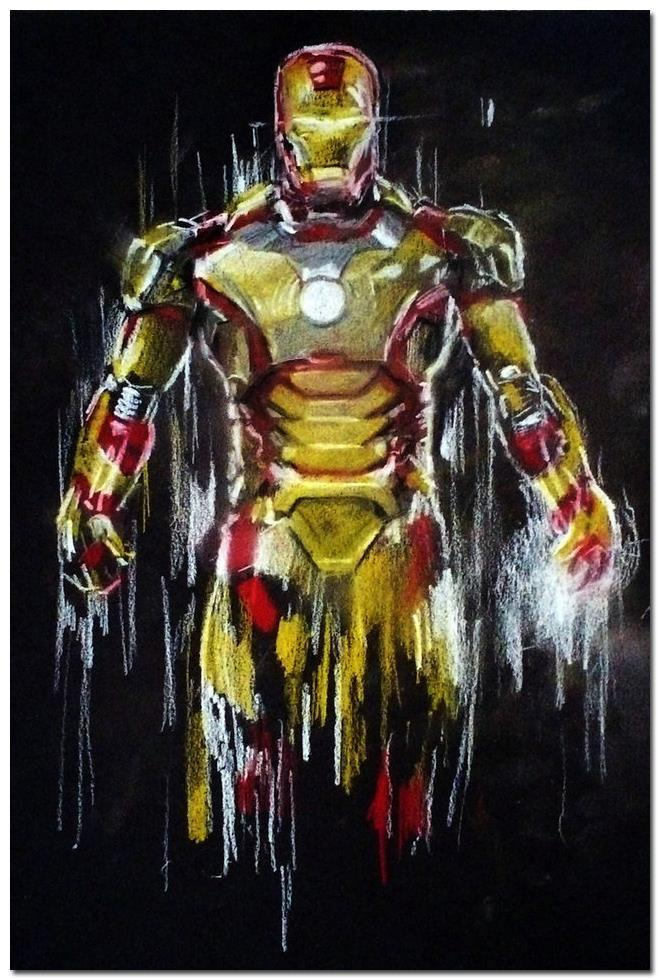 Iron Man Hot Movie Art Silk Poster Print 13x20 inch