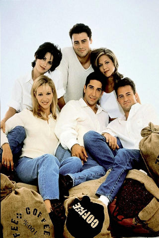 Friends Silk Poster Classic TV Show Series Pictures Home Bedroom Decor Birthday Gift 05 - 32x48 inch (80x120cm)