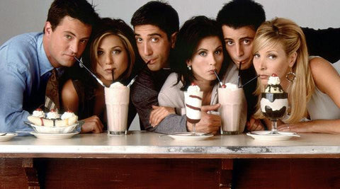 Friends Silk Poster Classic TV Show Series Pictures Home Bedroom Decor Birthday Gift 02 - 32x48 inch (80x120cm)