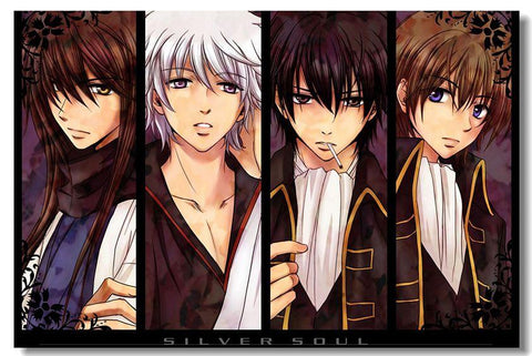 GINTAMA Anime Art Silk Poster Living Room Wall Decor Birthday Gift 022 - 20x30 inch (50x75cm)