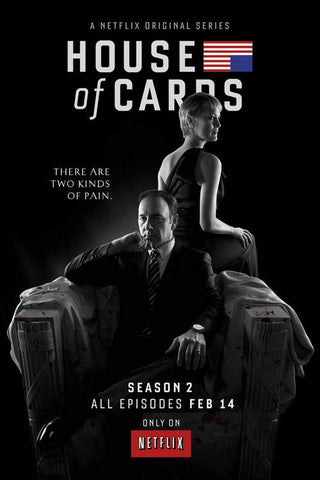 House Of Cards Silk Wall Poster Hot TV Series Show Pictures For Gift 06 - 32x48 inch (80x120cm)