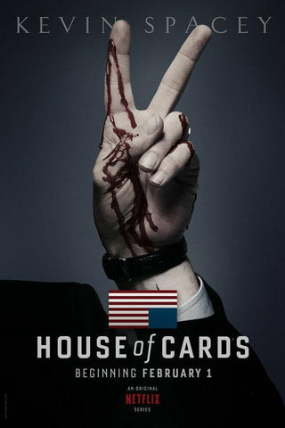 House Of Cards Silk Wall Poster Hot TV Series Show Pictures For Gift 05 - 32x48 inch (80x120cm)