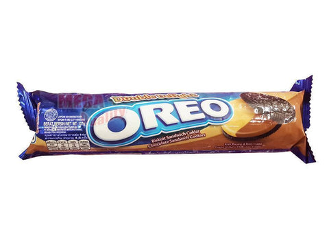 OREO Double Delight Chocolate Sandwich Cookie Peanut Butter Chocolate Cream 137g