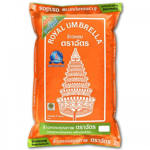 ROYAL UMBRELLA JASMIN RICE (5KG) - THAI ETC GROUP