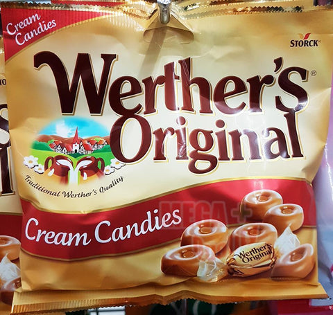 Storck Werther s Original Sugar Cream Candies Sweet Caramel Chocolate Candy 150g