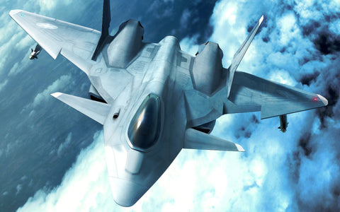 Ace Combat Game Silk Wall Art Poster Print - 20x30 inch (50x75cm)