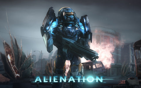 Alienation PS4 Game 4K 8K Game Silk Wall Art Poster Print - 13x20 inch (33x50cm)