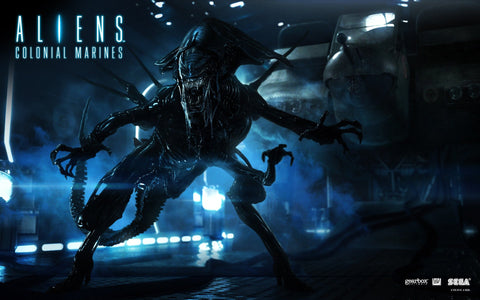 Aliens Colonial Marines 2013 Game Game Silk Wall Art Poster Print - 13x20 inch (33x50cm)