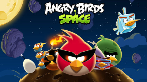 Angry Birds Space Game Game Silk Wall Art Poster Print - 13x20 inch (33x50cm)