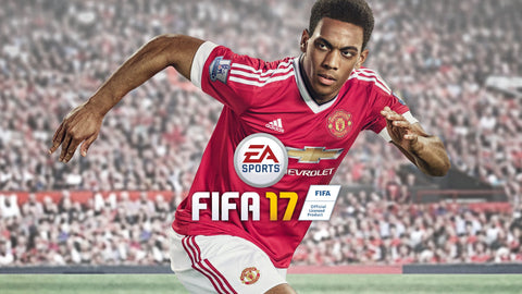 Anthony Martial FIFA 17 Game Silk Wall Art Poster Print - 13x20 inch (33x50cm)