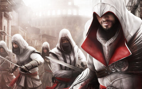 Assassin's Creed 2011 Game Silk Wall Art Poster Print - 13x20 inch (33x50cm)