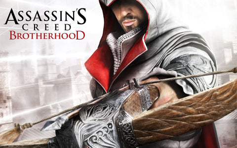 Assassin's Creed Brotherhood Game Game Silk Wall Art Poster Print - 20x30 inch (50x75cm)