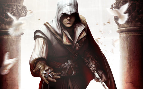 Assassin's Creed II HQ Game Silk Wall Art Poster Print - 20x30 inch (50x75cm)