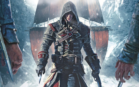 Assassin's Creed Rogue Game Silk Wall Art Poster Print - 20x30 inch (50x75cm)