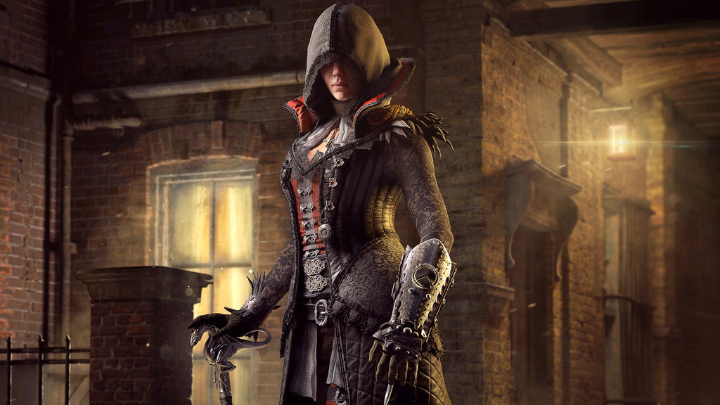 Assassin S Creed Syndicate Evie Frye Game Silk Wall Art Poster