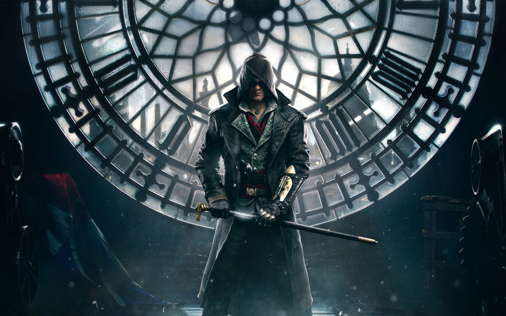 Assassin S Creed Syndicate Game Game Silk Wall Art Poster Print