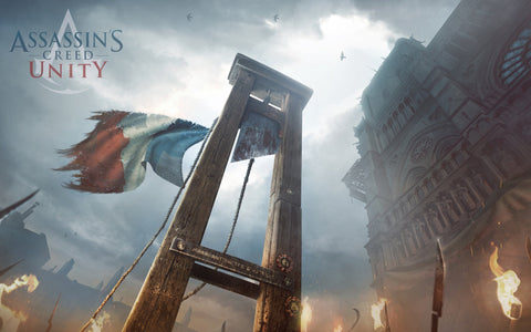 Assassin's Creed Unity 2014 Game Silk Wall Art Poster Print - 20x30 inch (50x75cm)