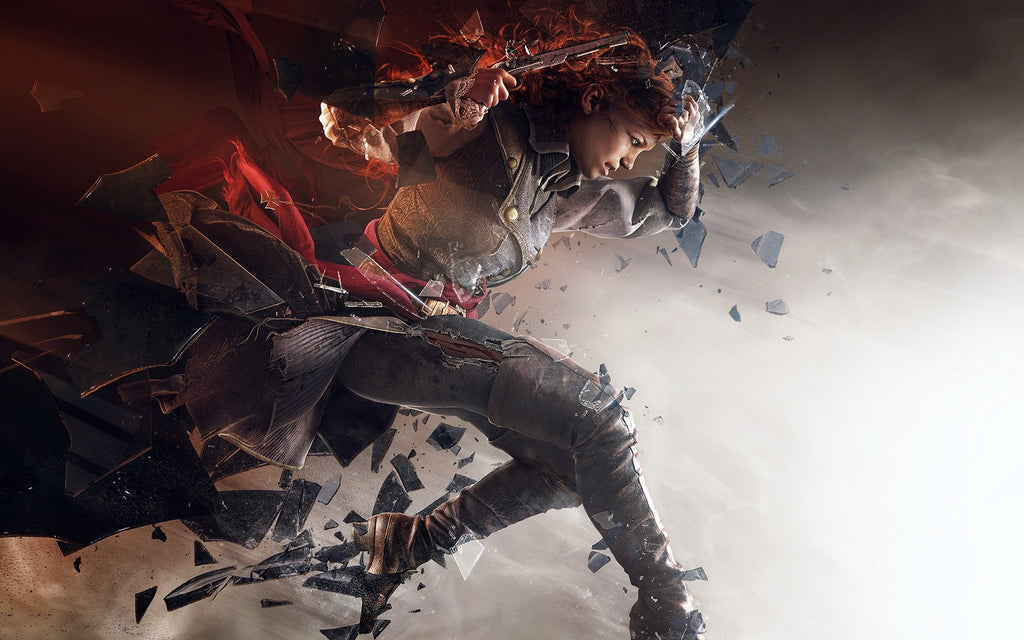 Assassin S Creed Unity Elise Game Silk Wall Art Poster Print