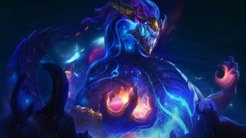 Aurelion Sol League of Legends Game Silk Wall Art Poster Print - 32x48 inch (80x120cm)