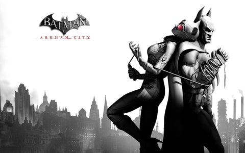 Batman Arkham City Game Game Silk Wall Art Poster Print - 13x20 inch (33x50cm)