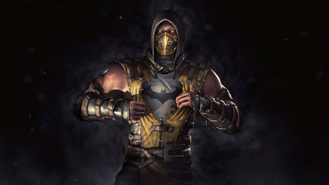Batman Mortal Kombat X Game Silk Wall Art Poster Print - 32x48 inch (80x120cm)