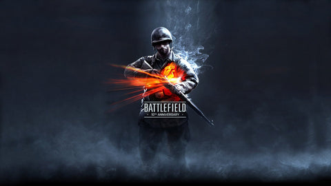 Battlefield 10th Anniversary Game Silk Wall Art Poster Print - 20x30 inch (50x75cm)