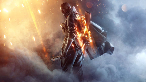 Battlefield 1 PC PS4 Xbox Game Game Silk Wall Art Poster Print - 32x48 inch (80x120cm)