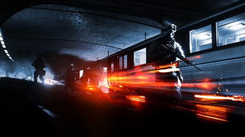Battlefield 3 Operation Metro Game Silk Wall Art Poster Print - 13x20 inch (33x50cm)