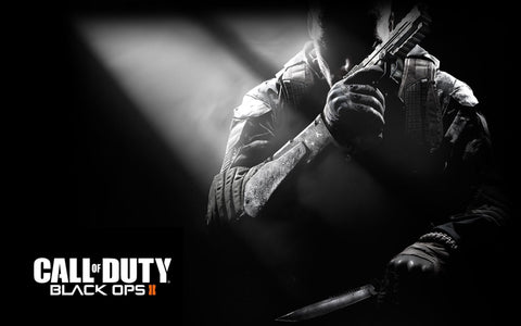 Call of Duty Black Ops 2 Game Silk Wall Art Poster Print - 13x20 inch (33x50cm)