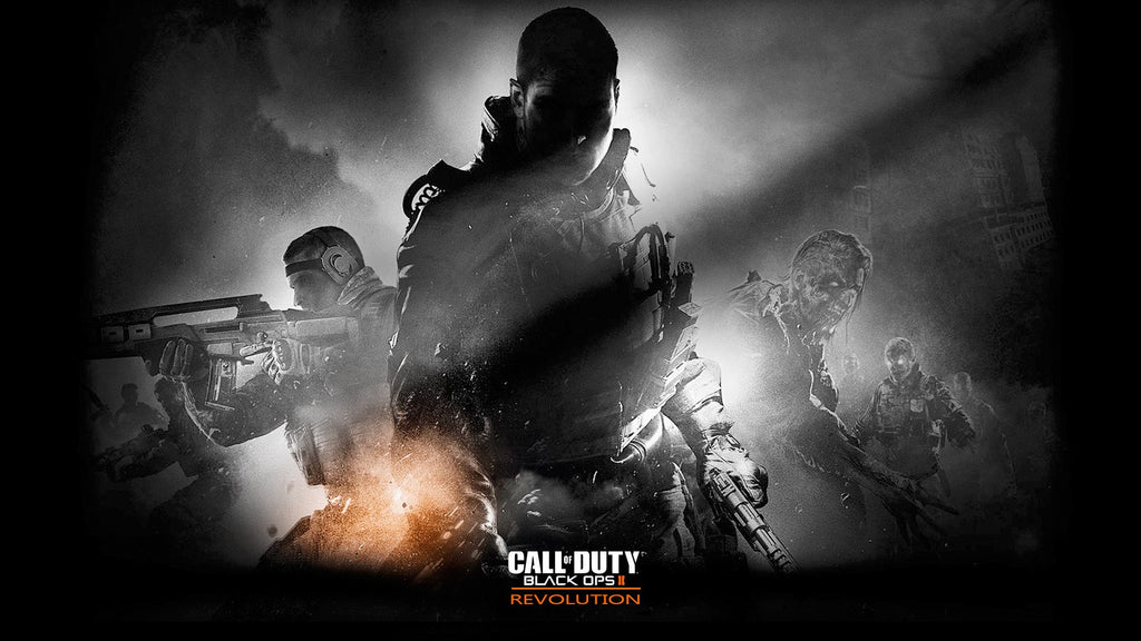 Call Of Duty Black Ops 2 Revolution Game Silk Wall Art Poster