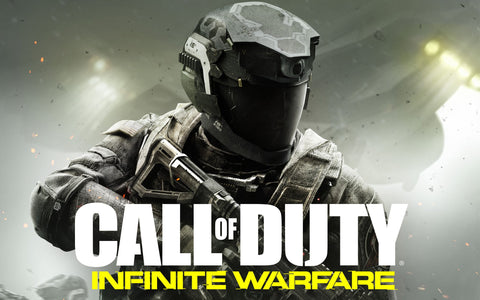 Call of Duty Infinite Warfare Game Game Silk Wall Art Poster Print - 13x20 inch (33x50cm)