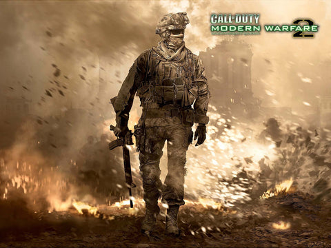 Call of Duty Modern Warfare 2 Game Silk Wall Art Poster Print - 13x20 inch (33x50cm)