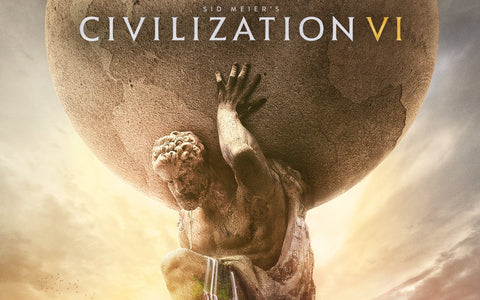 Civilization 6 4K Game Silk Wall Art Poster Print - 32x48 inch (80x120cm)