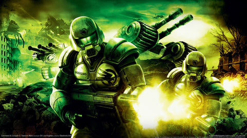 Command and conquer 3 Game Silk Wall Art Poster Print - 13x20 inch (33x50cm)