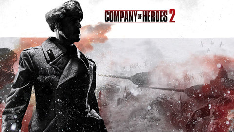 Company Of Heroes 2 Game Silk Wall Art Poster Print - 13x20 inch (33x50cm)
