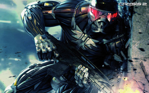 Crysis 2 Game 2010 Game Silk Wall Art Poster Print - 32x48 inch (80x120cm)