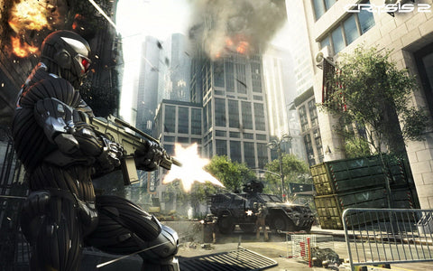 Crysis 2 Gameplay Game Silk Wall Art Poster Print - 13x20 inch (33x50cm)