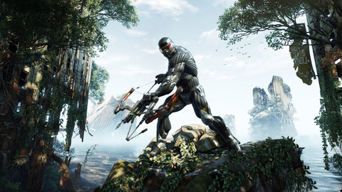 Crysis 3 2013 Game Game Silk Wall Art Poster Print - 13x20 inch (33x50cm)