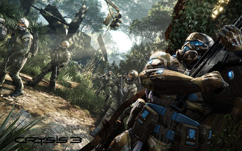 Crysis 3 Hunter Edition Game Silk Wall Art Poster Print - 13x20 inch (33x50cm)