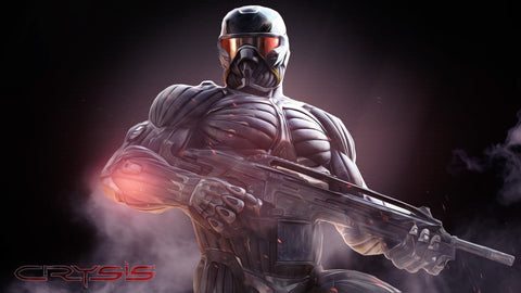 Crysis 3 Nanosuit Game Silk Wall Art Poster Print - 13x20 inch (33x50cm)
