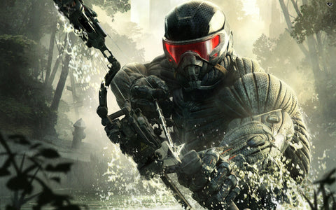 Crysis 3 Video Game Game Silk Wall Art Poster Print - 20x30 inch (50x75cm)