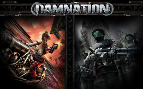 Damnation Game Silk Wall Art Poster Print - 32x48 inch (80x120cm)