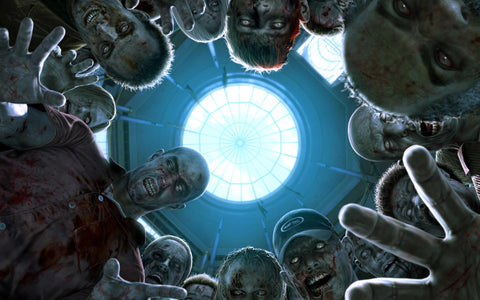 Dead Rising Zombies Game Silk Wall Art Poster Print - 13x20 inch (33x50cm)