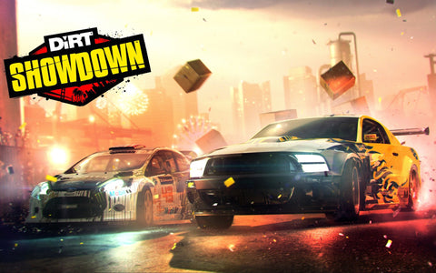 Dirt Showdown Game Silk Wall Art Poster Print - 13x20 inch (33x50cm)